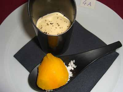 Trufa + Yema + Oveja en natilla y cucharilla