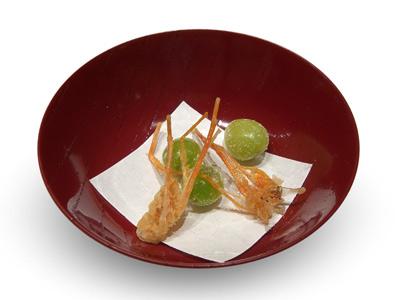 Ginkgo nuts with prawn legs (2005)