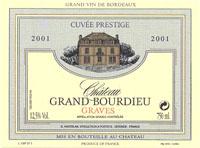 Château Grand Bourdieu Cuvée Prestige 01