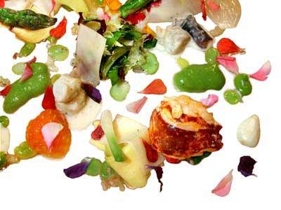 "Insalata tiepida di ""midollini"" di verdure (2002)"