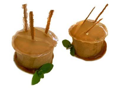 Mousse de regaliz con salsa de limón y menta (1999)