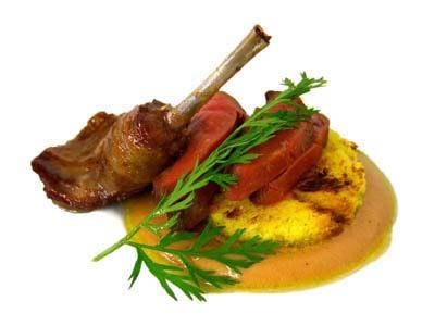 Emulsión de aceite y foie gras con pichón (2005)
