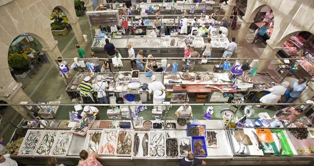 Puestos del Mercado de Pontevedra