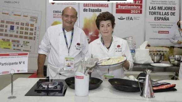 Ciri con  Mariano García