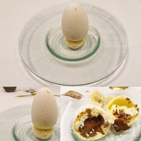 El huevo en el nido