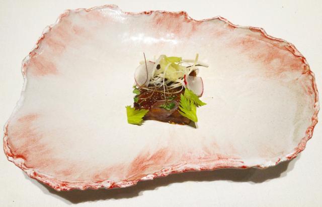 Parpatana de atún, cebolla y patata (2017)