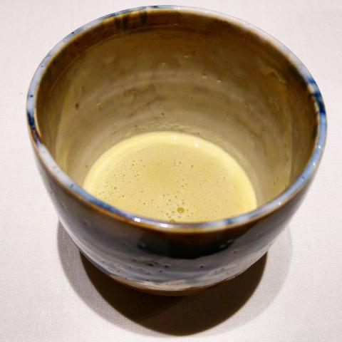 Jugo de pollo de corral - limón - Jerez