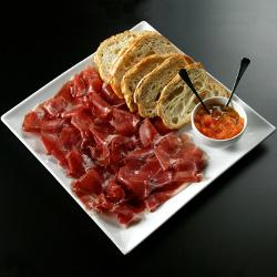 Jamón y tomate
