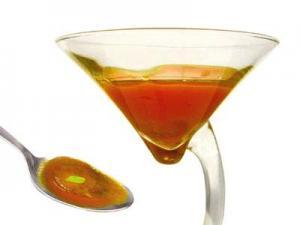 Cocktail d'huiles d'olive et soupe froide de tomate et poivre (2005)