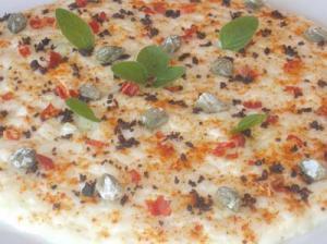 Risotto Con Burrata E Aromi Mediterranei