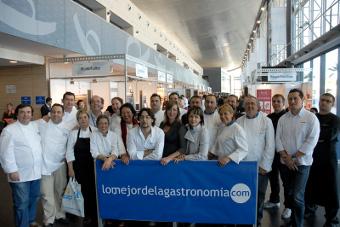 Presentación del Congreso lomejordelagastronomia.com en Fitur