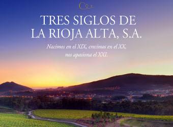"""""""Tres siglos de La Rioja Alta, S.A."""", Mejor libro español sobre vino"""