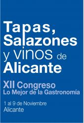 Cartel de la Semana de Tapas, Salazones y Vinos Alicante