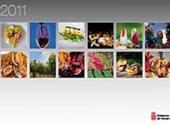 El Gobierno edita 11.000 calendarios con imágenes de gastronomía navarra