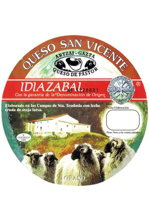 Queso Idiazabal San Vicente