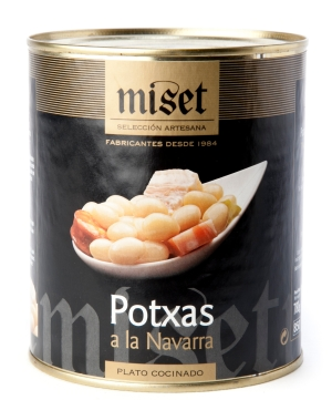 Pochas o Potxas a la Navarra Miset
