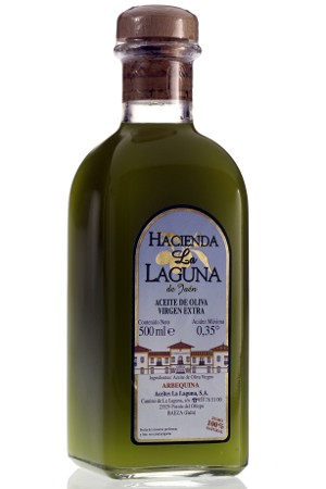 Aceite de Oliva Virgen Extra Hacienda La Laguna de Jaén Arbequina