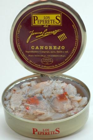 Cangrejo y Huevas de Cangrejo los Peperetes
