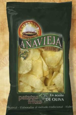 Patatas Fritas de Agricultura Ecológica Añavieja
