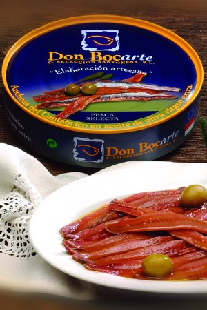Anchoas en Aceite de Oliva Virgen Don Bocarte