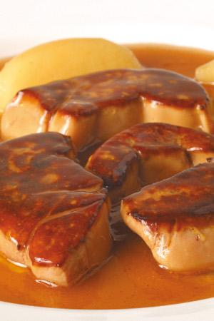 Escalopes de Foie Gras a la Plancha Martiko