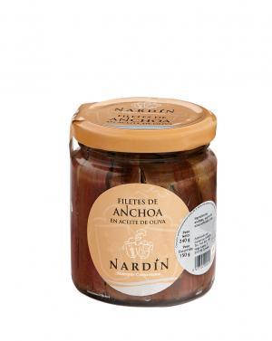 Anchoas en Aceite de Oliva Nardín