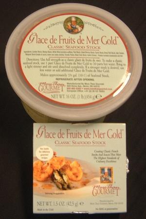 Glace De Fruits De Mer More Than Gourmet