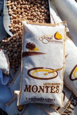 Garbanzos de Fuentesaúco Legumbres Montes