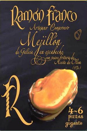 Mejillones en Escabeche Ramón Franco