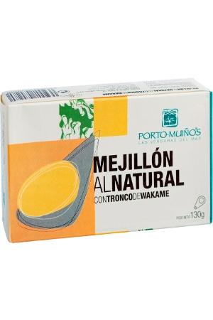 Mejillones al Natural con Wakame Porto-Muiños