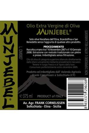 Aceite de Oliva Virgen Extra Munjebel