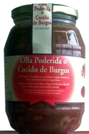 Olla Poderida o Cocido de Burgos Embutidos Cuevas