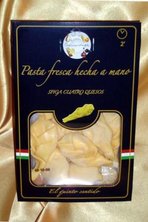 Pasta Fresca Hecha a Mano Spiga Cuatro Quesos El Quinto Sentido