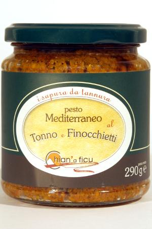 Pesto Mediterráneo de Atún e Hinojo Chian'a Ficu