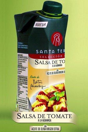 Salsa de Tomate a la Albahaca Santa Teresa