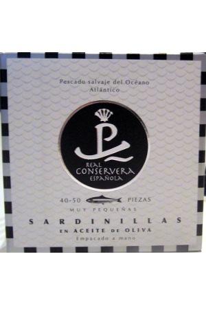 Sardinillas en Aceite de Oliva  40/50 Real Conservera Española