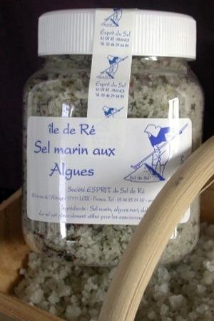 Sal Marina Con Algas Esprit Du Sel