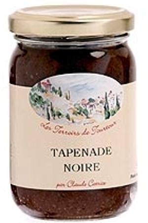 Tapenade Noire Les Terroirs de Tourtour y Brin de Provence