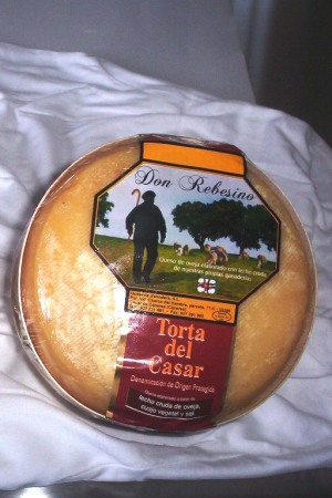 Torta del Casar Don Rebesino
