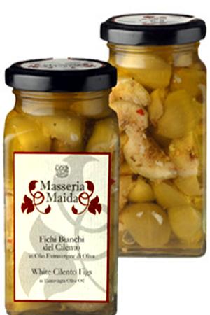 Higos Blancos del Cilento en aceite de oliva Masseria Maida