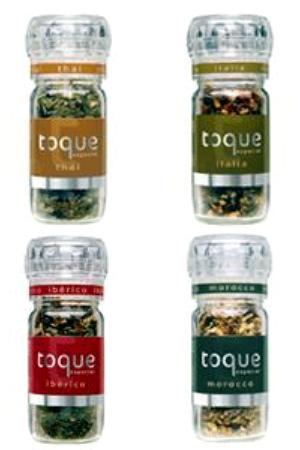 Condimentos Toque Especial Ibérico, Italia, Thai y Morocco