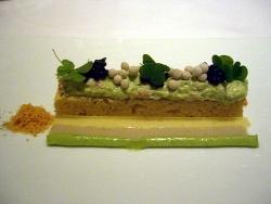 Cangrejo con emulsion de ostras y caviar