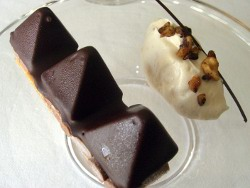 Chocopic trufado y chocolate helado