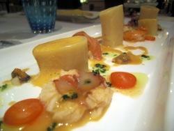 Paccheri de frutos de mar