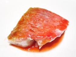 Rouge: salmonete, remolacha y cerezas