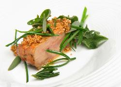 Escalope de foie gras de pato