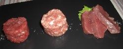 La carne cruda