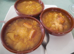Sopa Castellanan con Careta