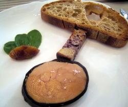 Le Foie Gras en Gelée Poivrée de Pomerol et Brioche au Moût de Raisin