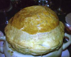 Sopa de oveja y col